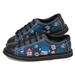 Kids Bots Black Lace