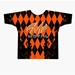 Orange Argyle Dye-Sublimated Crew Neck
