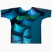 Blue Cubes Dye-Sublimated Crew Neck