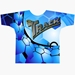 Blue Hexagon Dye-Sublimated Crew Neck