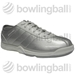 Women's Basic Euro Silver/White
