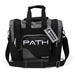 Path Single Deluxe Tote Black/Silver